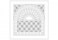 Arabic Pattern | FREE AUTOCAD BLOCKS