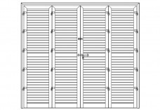 Shutters elevation | FREE AUTOCAD BLOCKS
