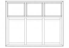 Window elevation | FREE AUTOCAD BLOCKS