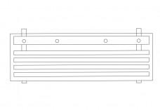 Bench top view | FREE AUTOCAD BLOCKS