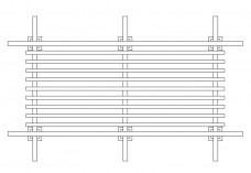 Pergola top view | FREE AUTOCAD BLOCKS