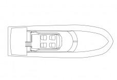 Boat top view | FREE AUTOCAD BLOCKS