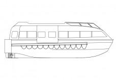 Boat elevation | FREE AUTOCAD BLOCKS
