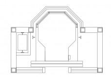 Single Lift top view | FREE AUTOCAD BLOCKS