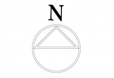 North Symbol | FREE AUTOCAD BLOCKS