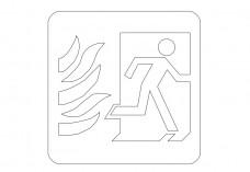 Emergency Exit | FREE AUTOCAD BLOCKS