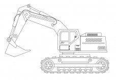 Construction Vehicle | FREE AUTOCAD BLOCKS