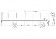 Bus elevation | FREE AUTOCAD BLOCKS