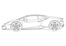 Supercar | FREE AUTOCAD BLOCKS