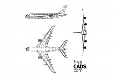 Airplane Bundle | FREE AUTOCAD BLOCKS
