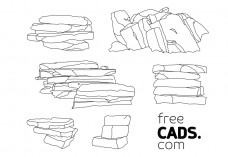Outcrops Bundle | FREE AUTOCAD BLOCKS