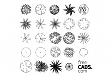 Trees Bundle | FREE AUTOCAD BLOCKS