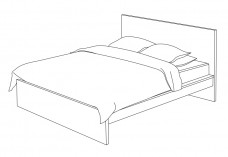 Double Bed | FREE AUTOCAD BLOCKS