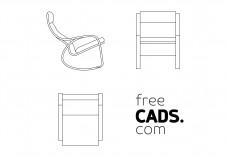 Rocking Chair | FREE AUTOCAD BLOCKS