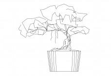 Plant elevation   FREE AUTOCAD BLOCKS