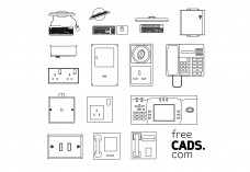 Electrical Equipment Bundle | FREE AUTOCAD BLOCKS
