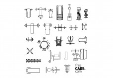 Gym Equipment Bundle | FREE AUTOCAD BLOCKS