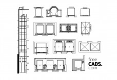 Lifts Bundle | FREE AUTOCAD BLOCKS
