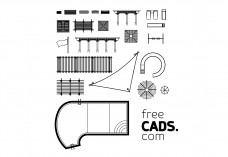 Outdoor Bundle | FREE AUTOCAD BLOCKS