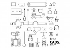Valves Bundle | FREE AUTOCAD BLOCKS