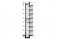 Elevator shaft section | FREE AUTOCAD BLOCKS
