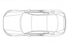 Car top view | FREE AUTOCAD BLOCKS