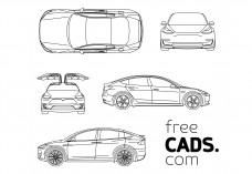Tesla Bundle | FREE AUTOCAD BLOCKS
