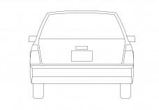 Car elevation | FREE AUTOCAD BLOCKS