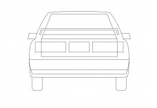 Car elevation   FREE AUTOCAD BLOCKS