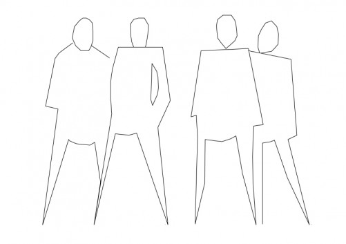 People Sitting top view | FREE AUTOCAD BLOCKS