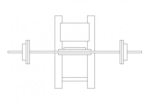 Gym Equipment top view | FREE AUTOCAD BLOCKS