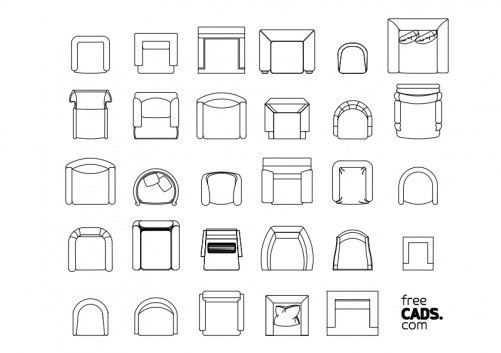 Toilets Bundle | FREE AUTOCAD BLOCKS