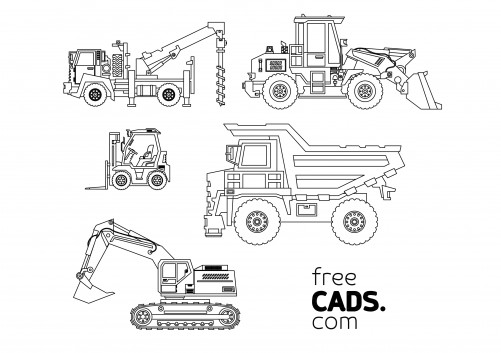 Vehicles Bundle | FREE AUTOCAD BLOCKS