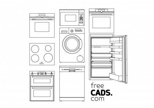 Kitchen Sinks Bundle | FREE AUTOCAD BLOCKS