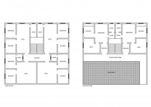 FLOOR PLAN | FREE CADS