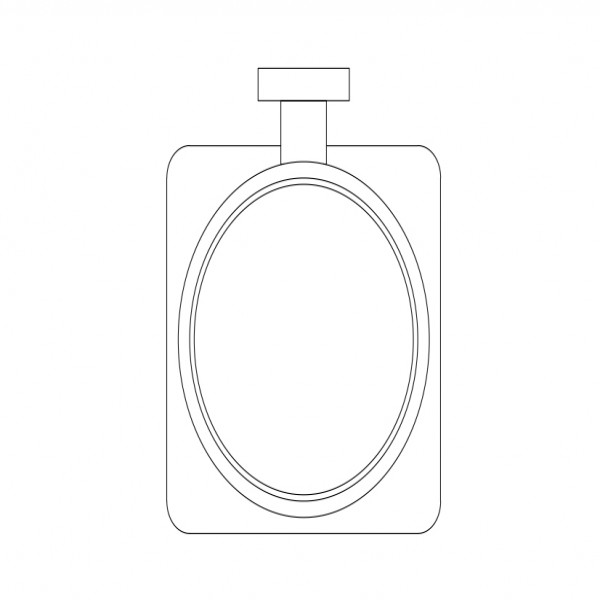 Soap Holder Top View Free Cads